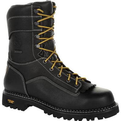 Men's georgia boots amp LT logger composite toe waterproof work boots - yeehawcowboy