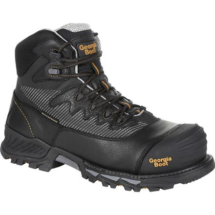 Men's Georgia Boots Rumbler Composite Toe Waterproof Hikers - yeehawcowboy