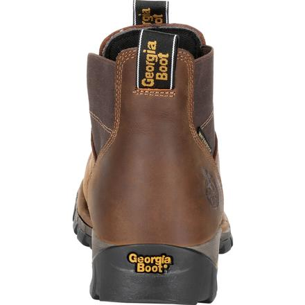 Men's Georgia Boots Eagle One Steel Toe Waterproof Chelsea Work Boots - yeehawcowboy