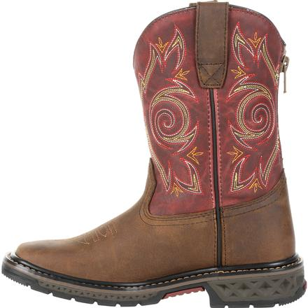 Kid's Georgia Boots Carbo-Tec Lt Big Kids Pull-On Boots - yeehawcowboy