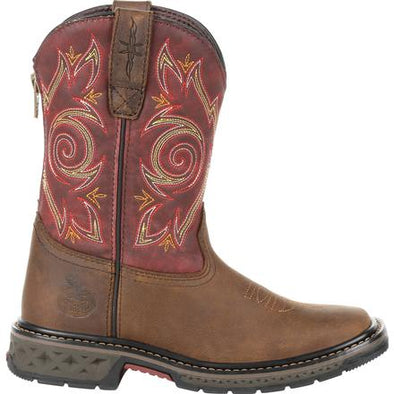 Kid's Georgia Boots Carbo-Tec Lt Little Kids Pull-On Boots - yeehawcowboy
