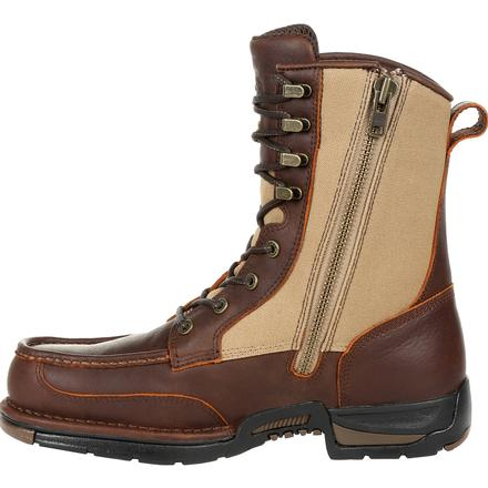 Men's Georgia Boots Athens Waterproof Side-Zip Upland Boots - yeehawcowboy