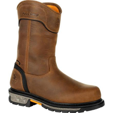 Men's Georgia Boots Carbo-Tec Ltx Waterproof Composite Toe Pull On Boots - yeehawcowboy
