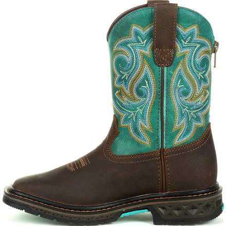 Kid's Georgia Boots Carbo-Tec Lt Little Kids Pull On Boots - yeehawcowboy