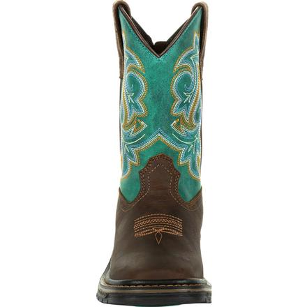 Kid's Georgia Boots Carbo-Tec Lt Pull On Boots - yeehawcowboy