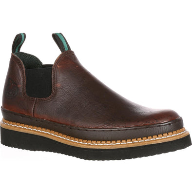 Men's Georgia Giant Wedge Romeo Work Shoe - yeehawcowboy