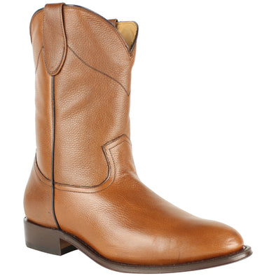 Men's Duque Di Galliano Boots Roper Toe Handcrafted - yeehawcowboy