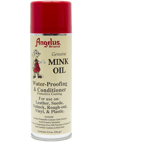 Angelus Brand Mink Oil Spray WaterProofing & Conditioning - yeehawcowboy