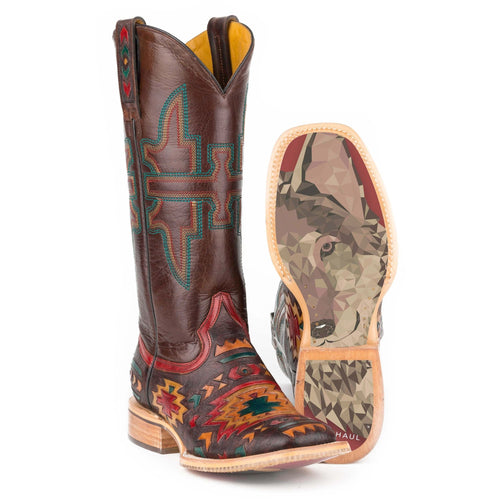 Women's Tin Haul South By SW Boots With Owl Sole Handcrafted