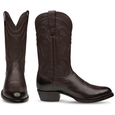 Men's Bachesto William Calfskin Boots Handcrafted - yeehawcowboy