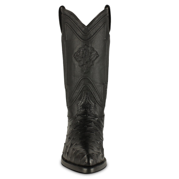 Men's Yeehaw Cowboy Ostrich Boots J Toe Handcrafted - yeehawcowboy