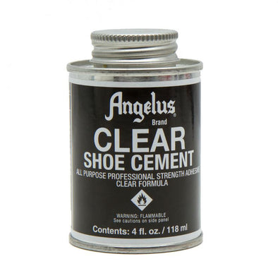 Angelus Brand Clear Shoe Cement Glue - yeehawcowboy