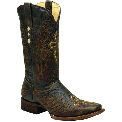 Men's Corral Goat Western Boots Handcrafted - yeehawcowboy