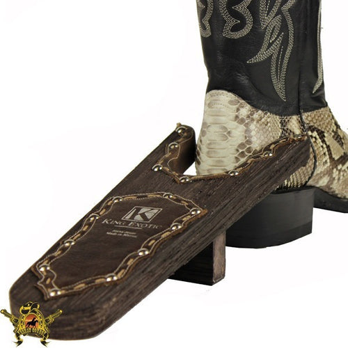 King Exotic Handmade Wooden Boot Jack - yeehawcowboy
