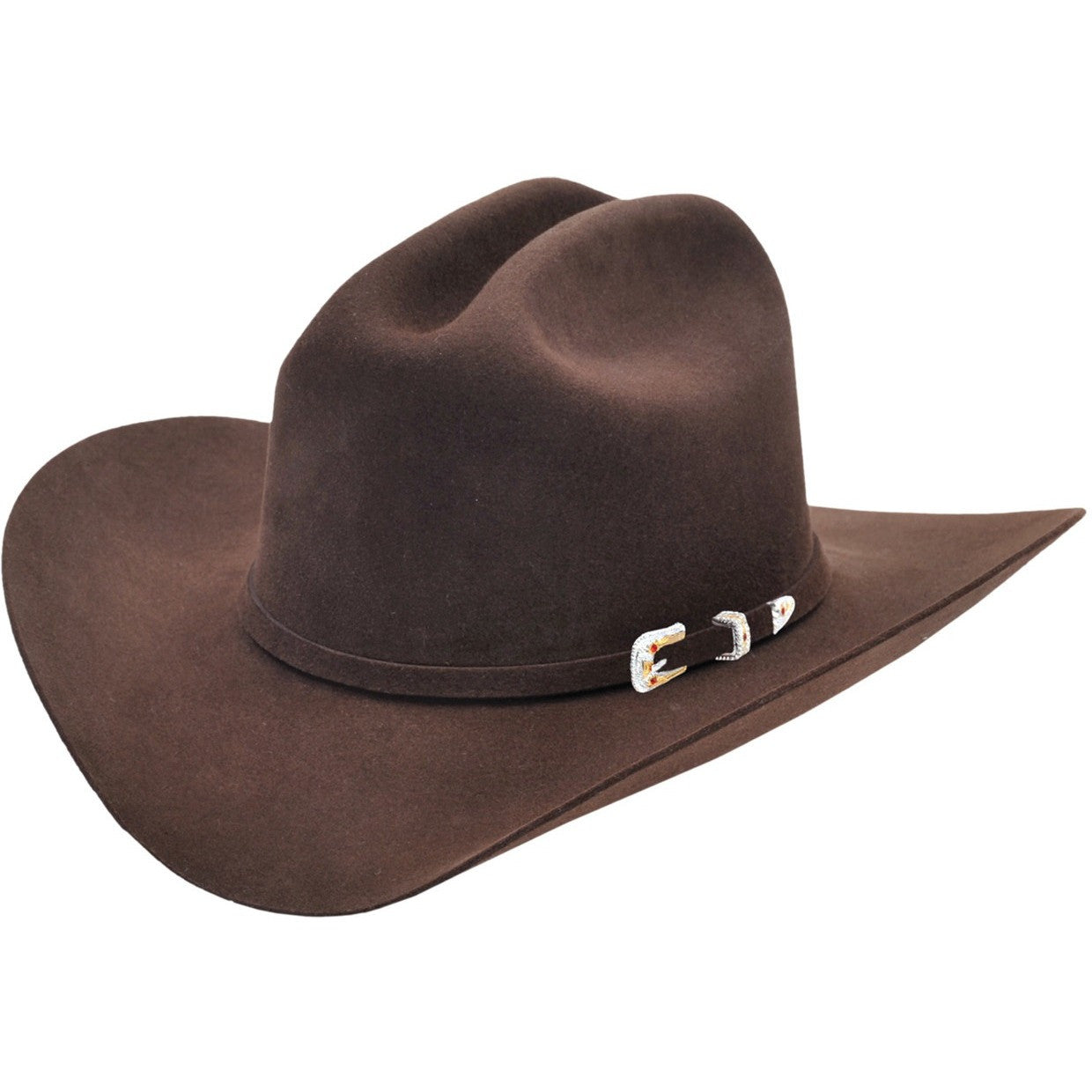 Los Altos Hats-Joan Style Felt Cowboy Hat 4x 6x 10x Available - yeehawcowboy e0438ec3aff
