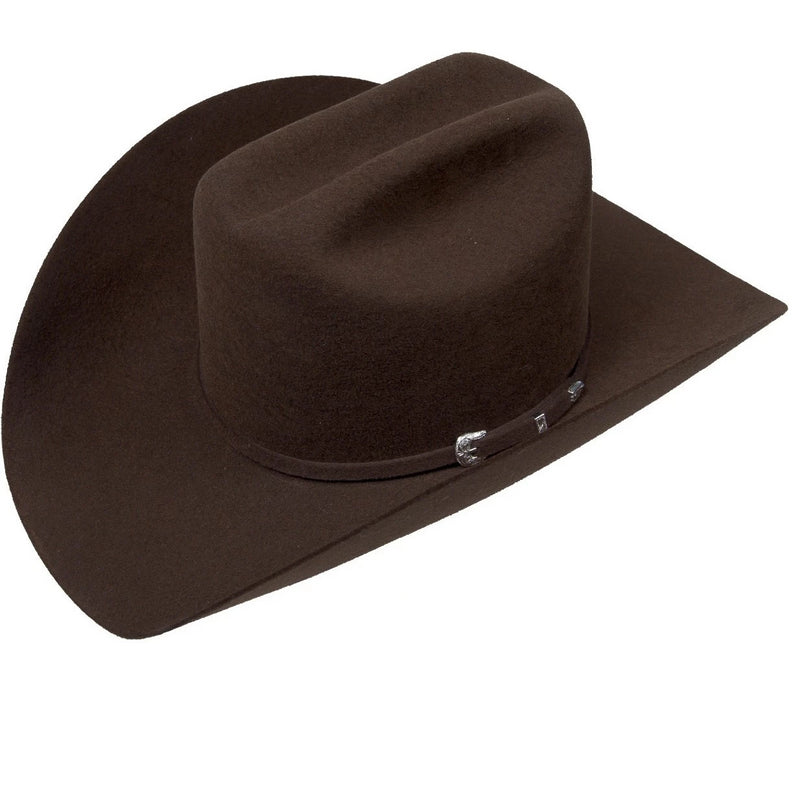 Serratelli Hat Company-Brown 3x Felt Western Cowboy Hat