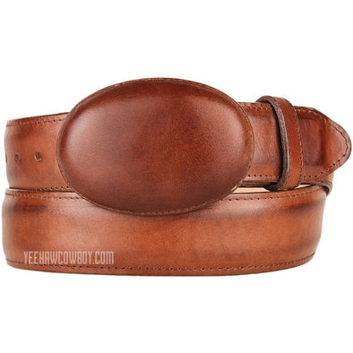 King Exotic Pull Up Leather Belt With Removable Buckle Handmade - yeehawcowboy