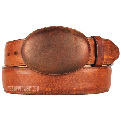 King Exotic Rage Leather Belt With Removable Buckle Handmade - yeehawcowboy