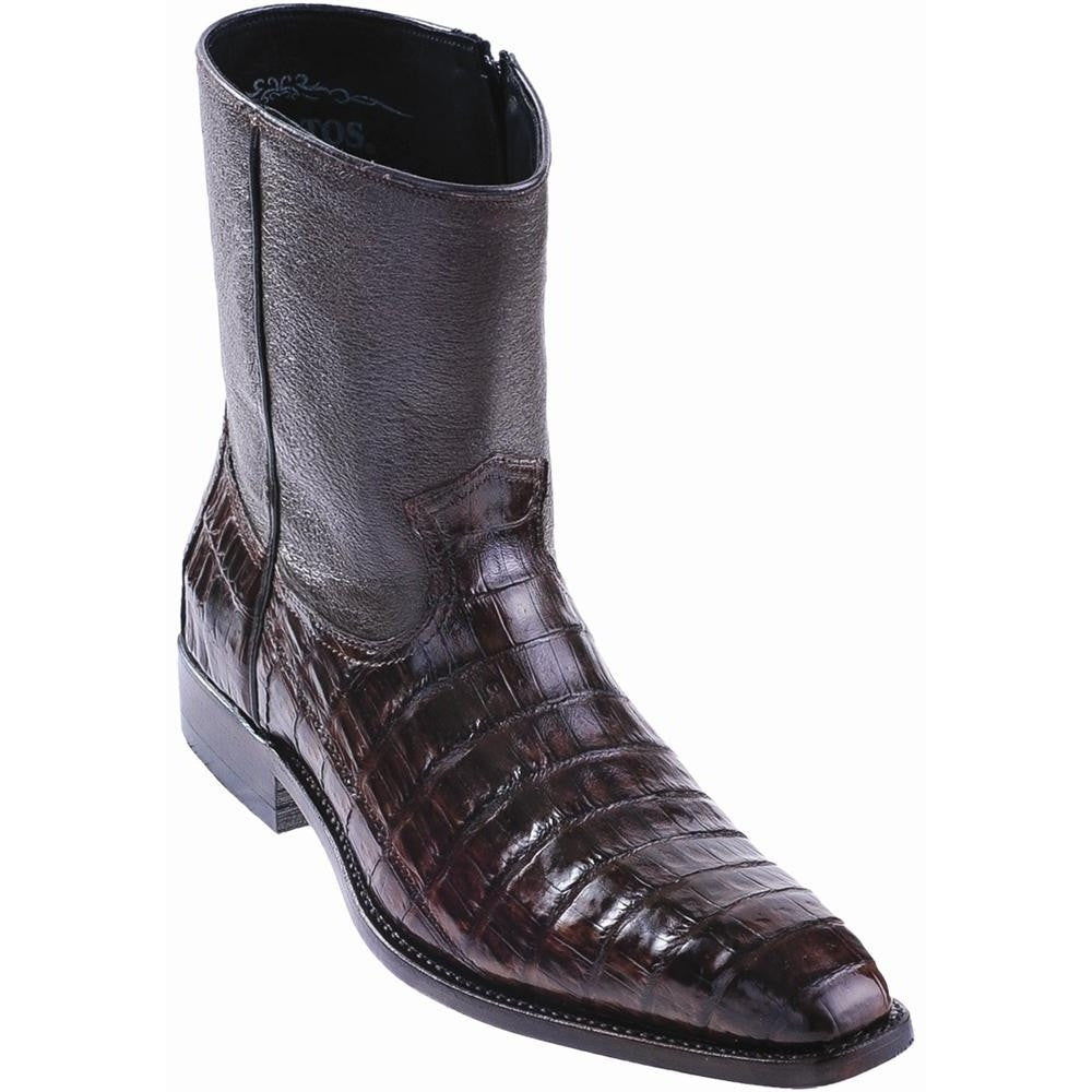 professional sale strong packing latest style Men's Los Altos Caiman Belly Fashion Dress Boots