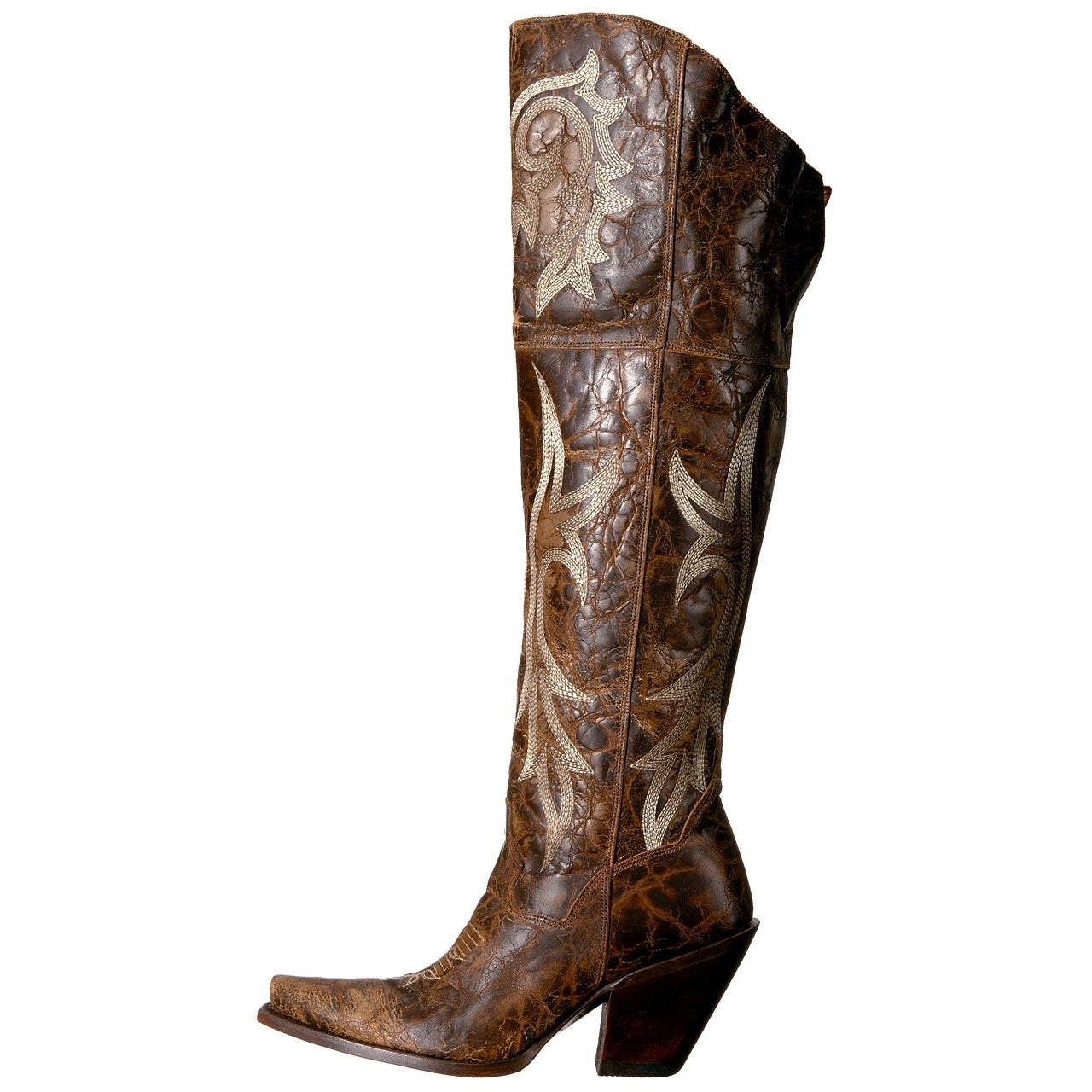 d6526ee8154 ... Women s Dan Post Jilted Over Knee Boots Snip Toe Handcrafted -  yeehawcowboy ...