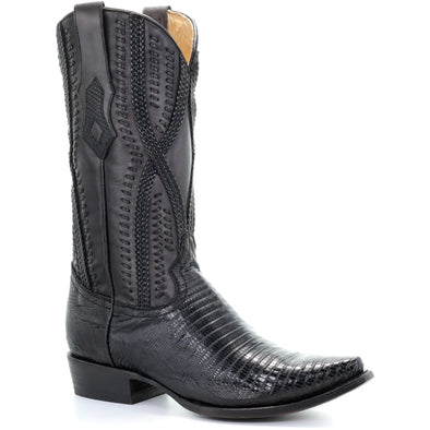 Men's Corral Lizard Exotic Boots Handcrafted - yeehawcowboy