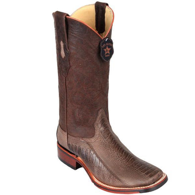 Men's Los Altos Ostrich Leg Boots With TPU And Leather Outsole - yeehawcowboy
