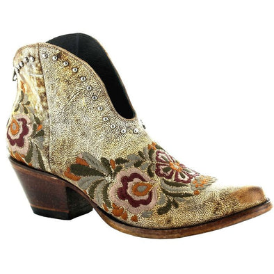 Women's Yippee Ki Yay Janely Boots by Old Gringo Yellow Tawny - yeehawcowboy