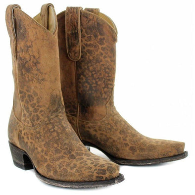 Women's Yippee Ki Yay Leopardito YP Boots by Old Gringo - yeehawcowboy