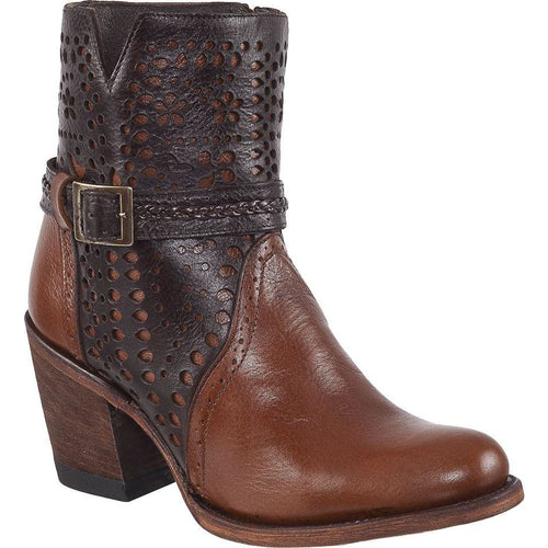 Women's PR Ankle Boots Round Toe Handcrafted - yeehawcowboy