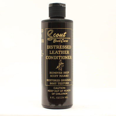Scout Premium Distressed Leather Lotion For Boots - yeehawcowboy
