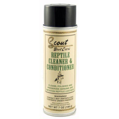 Scout Exotic Skin Cleaner Conditioner Polisher Preserver On Genuine Or Imitation - yeehawcowboy