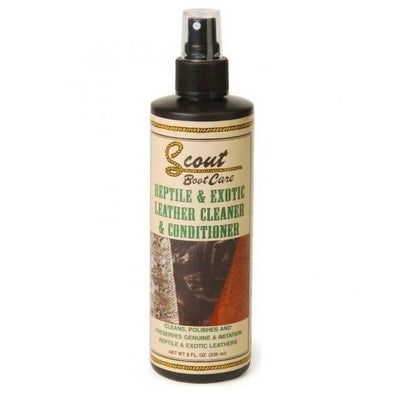 Scout Boot Care Exotic Skin And Reptile Cleaner Conditioner Preserver Spray - yeehawcowboy