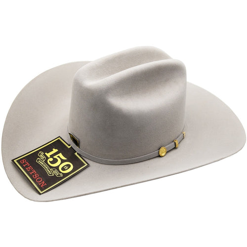 100x El Presidente Stetson Hat 10K Gold Three Piece Buckle Set - yeehawcowboy
