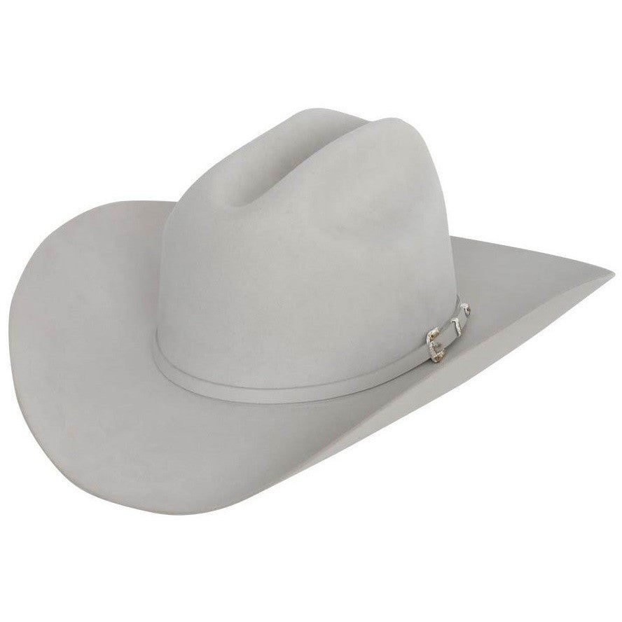 Stetson 30x El Patron Felt Hat Mist Gray Handmade In The USA Stetson ... 64742a739a2
