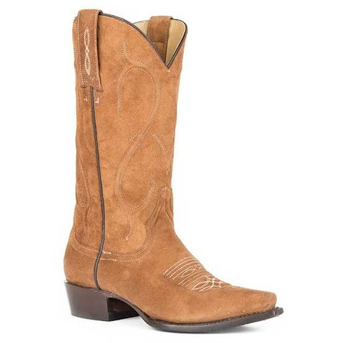 Women's Stetson Amber Boots Snip Toe Handcrafted - yeehawcowboy