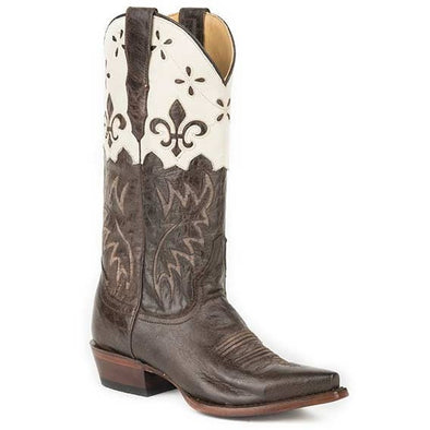 Women's Stetson Harper Boots Snip Toe Handcrafted - yeehawcowboy