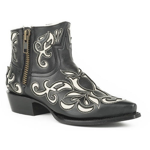 Women's Stetson Ivy Ankle Boots Snip Toe Handcrafted - yeehawcowboy