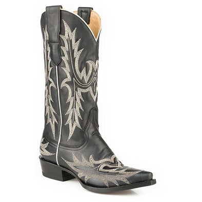 Women's Stetson Tina Boots Snip Toe Handcrafted - yeehawcowboy