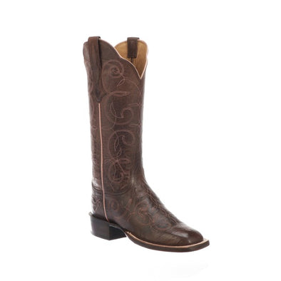 Women's Lucchese Emmalyn Goat Boots Handcrafted Chocolate - yeehawcowboy