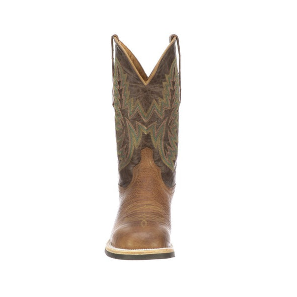 Men's Lucchese Rudy Leather Boots Handcrafted Tan - yeehawcowboy