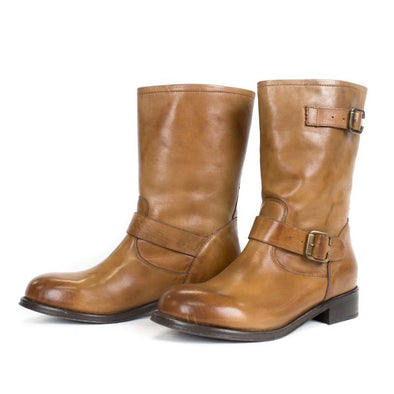 Women's Alcalas Robert Leather Boots Handcrafted - yeehawcowboy