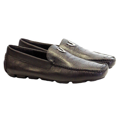 Men's Vestigium Genuine Ostrich Leg Loafers Handcrafted - yeehawcowboy