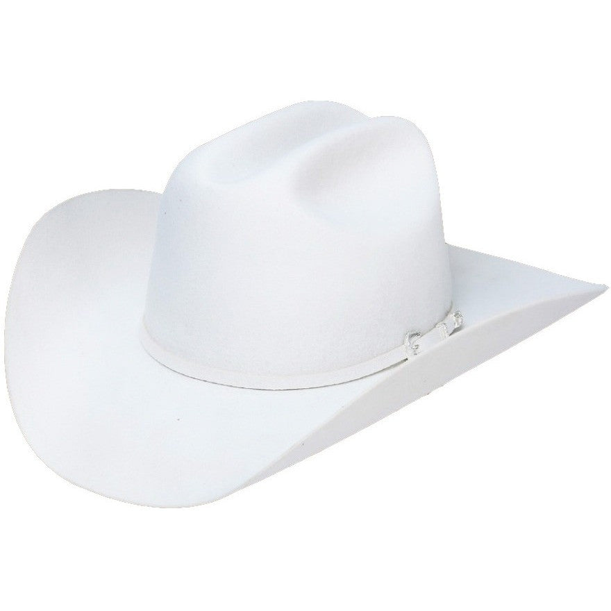 WHITE STETSON 4x deadwood Felt Cowboy Hat- New stetsons hats collection –  yeehawcowboy b2568070165
