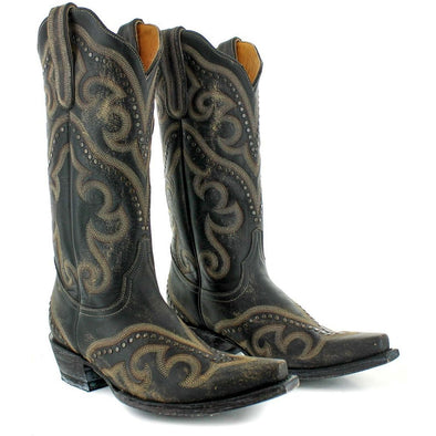 Women's Yippee Ki Yay Shay Boots by Old Gringo Black - yeehawcowboy