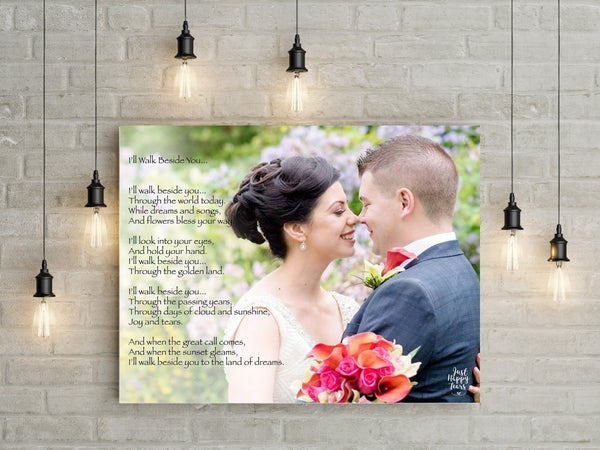 Anniversary Personalized Poetry Gift
