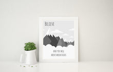 Boys Room Art Download, Nursery Printables, Boys Prints, Monochrome Nursery Quote, grey nursery art