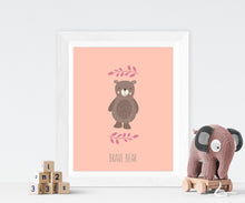 bear nursery decor, bear nursery print, bear wall art, nursery bear decor, nursery bear print, nursery bear wall art
