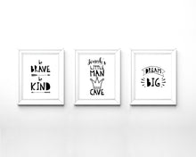 black and white nursery art, black and white nursery wall decor, baby boy nursery ideas, baby boy nursery decor