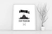 cute kid quotes about life, mountain nursery wall art, mountain nursery decor