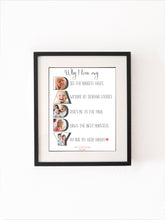 Daddy Photograph Print,Personalised Print For Dad,Photo Gift For Dad,Keepsake For Daddy,Gift For Father,Photo Daddy Print